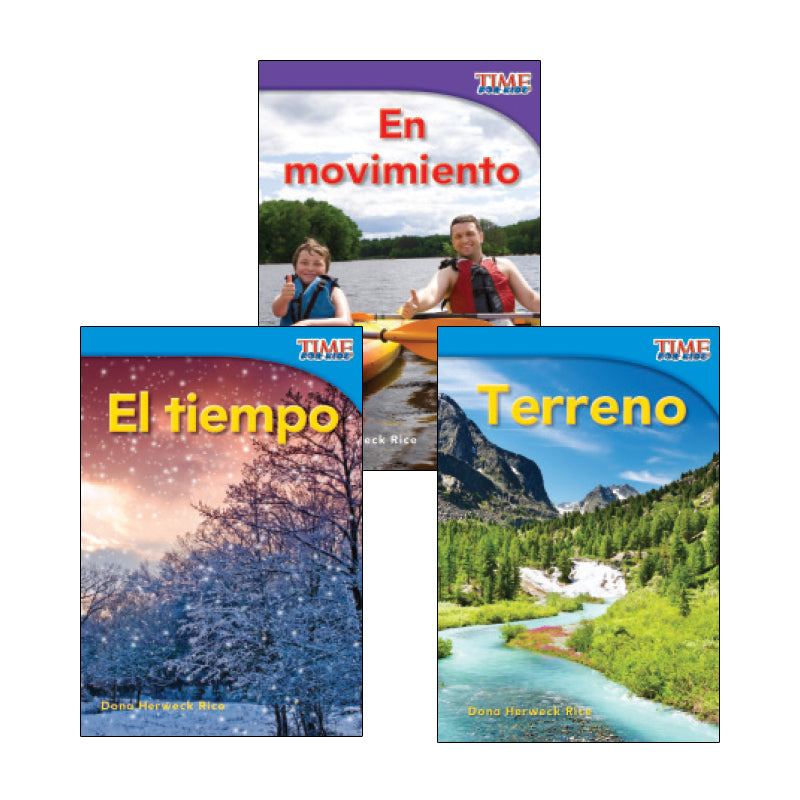 Spanish Leveled Readers C-D Nonfiction: Variety Pack