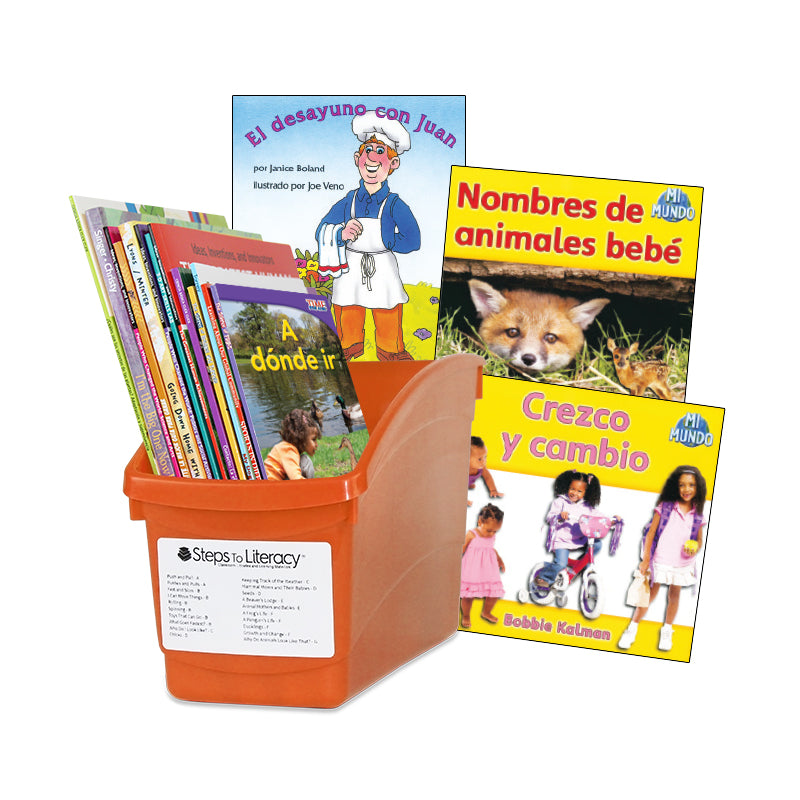 Spanish Leveled Readers C-D Fiction & Nonfiction: Complete Set