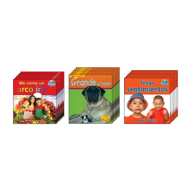 Spanish Leveled Readers A-B Nonfiction: Class Pack