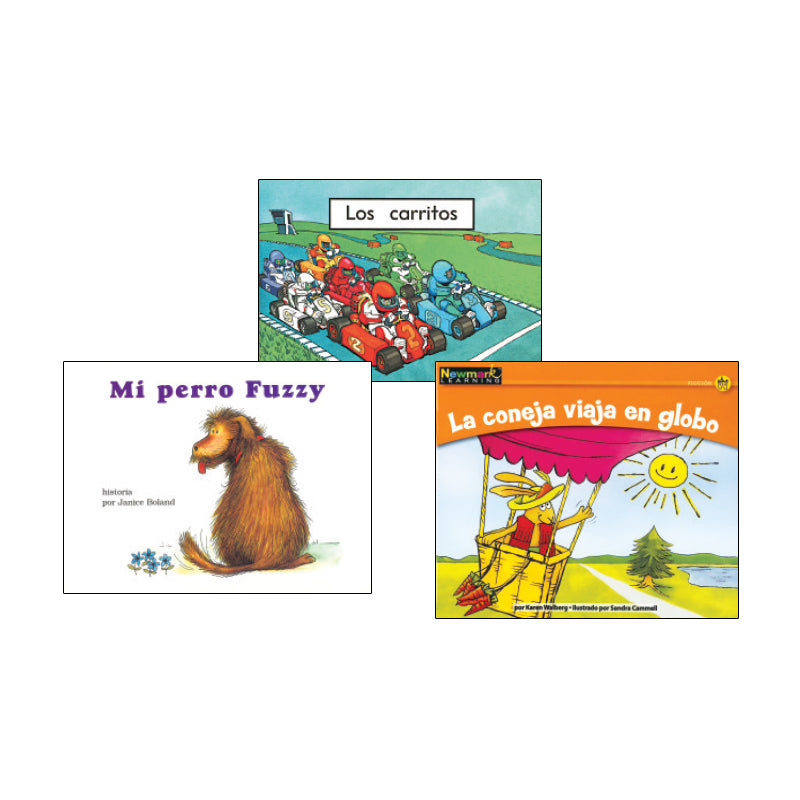 Spanish Leveled Readers A-B Fiction: Variety Pack
