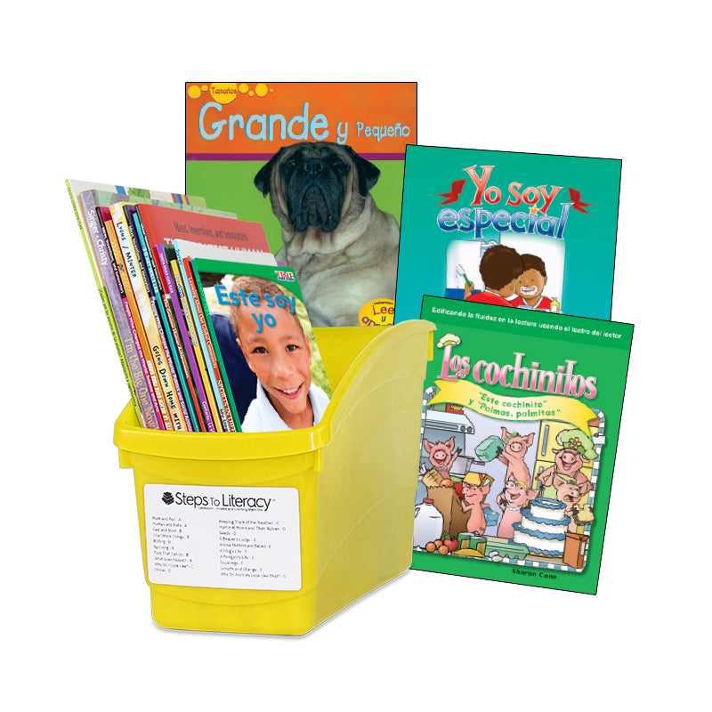Spanish Leveled Readers A-B Fiction & Nonfiction: Complete Set