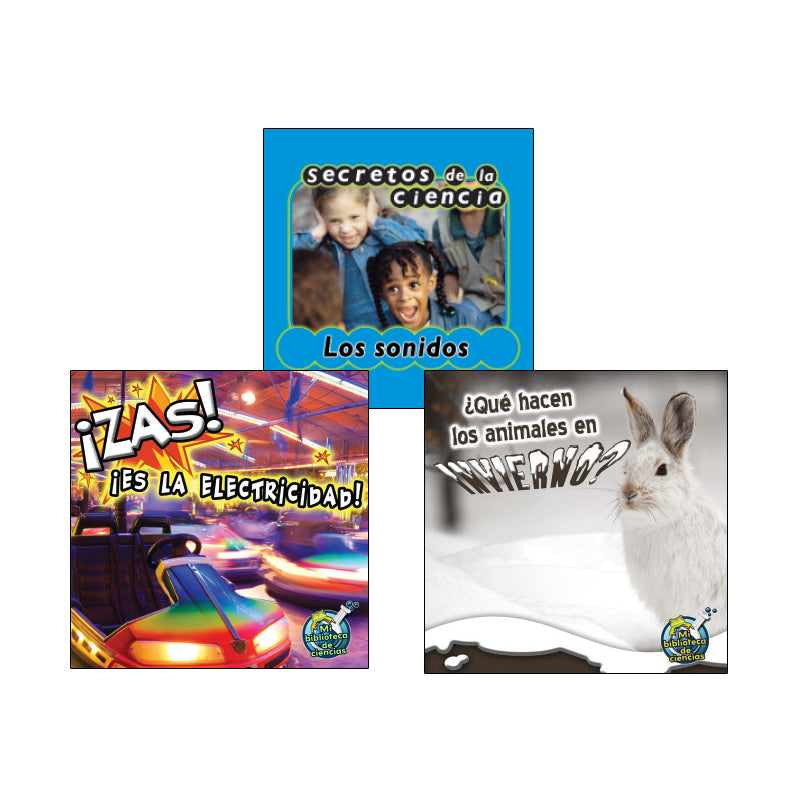 Spanish Leveled Readers K-L Nonfiction: Variety Pack