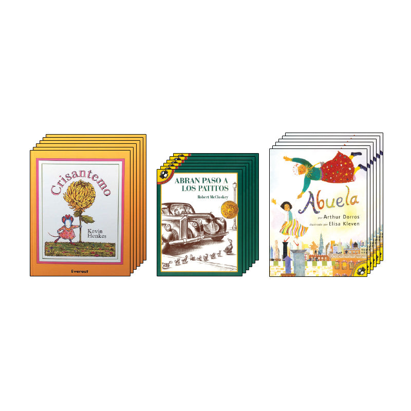 Spanish Leveled Readers K-L Fiction: Class Pack