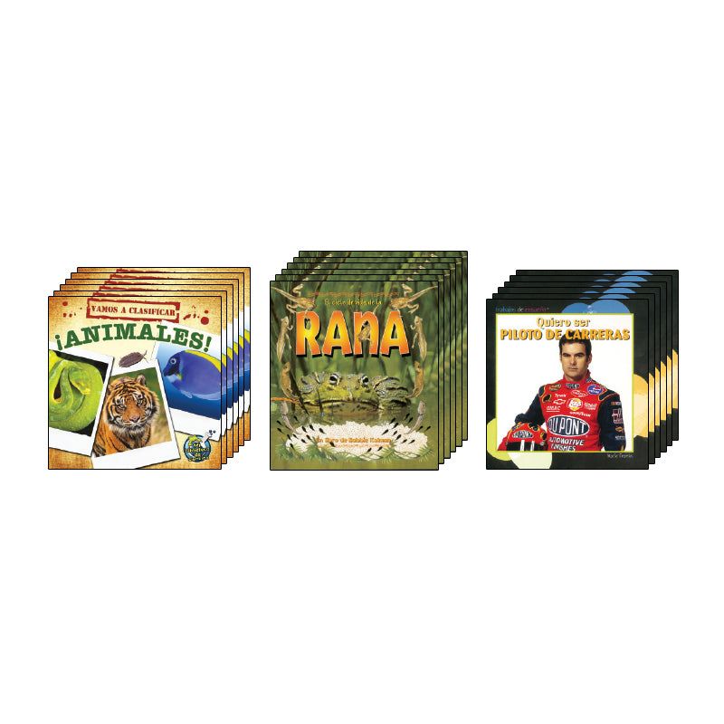 Spanish Leveled Readers M-N Nonfiction: Class Pack
