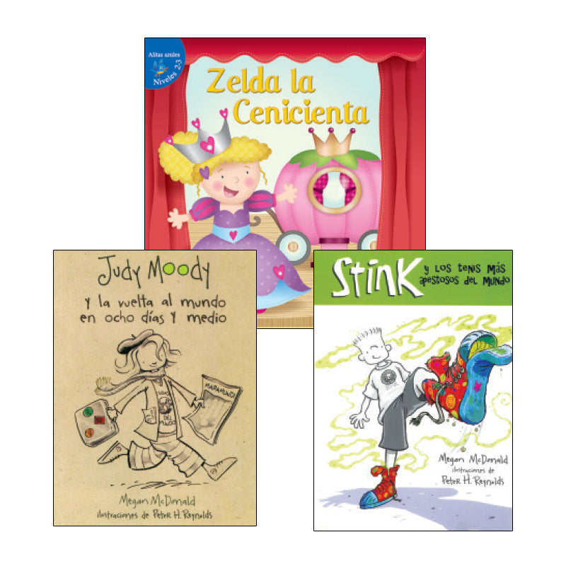 Spanish Leveled Readers M-N Fiction: Variety Pack