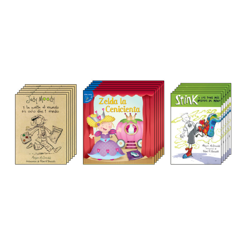 Spanish Leveled Readers M-N Fiction: Class Pack