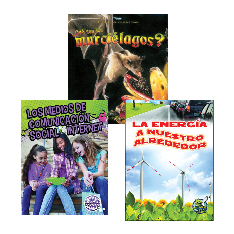 Spanish Leveled Readers O-P Nonfiction: Variety Pack