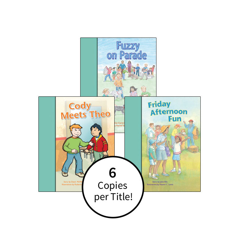 PM Stars Bridge Books First-Third Grade Turquoise: Class Pack