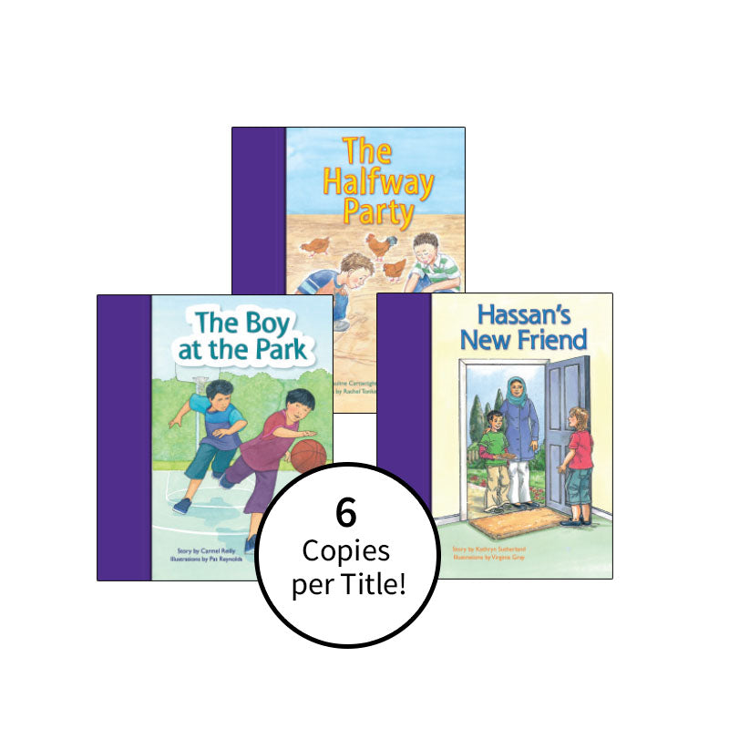 PM Stars Bridge Books First-Third Grade Purple: Class Pack