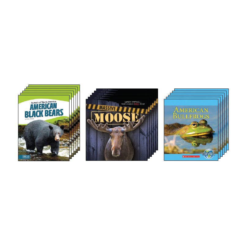 High Interest Science - Backyard & North American... - Grades 3-4: Class Pack