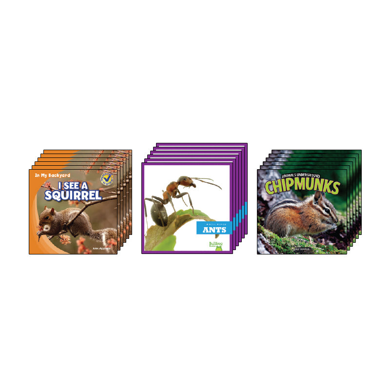 High Interest Science - Backyard & North American... - Grades K-1: Class Pack