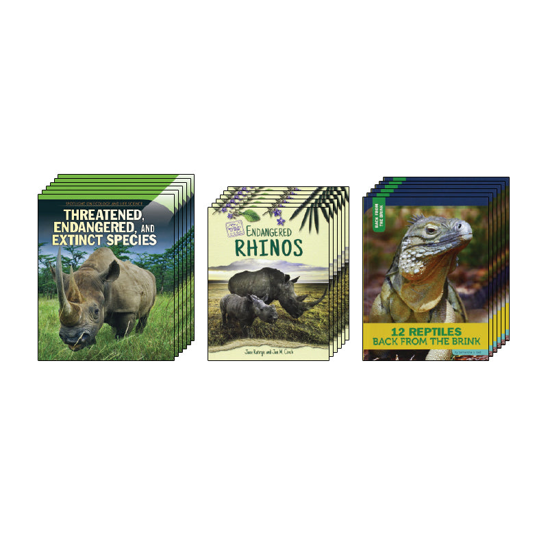 High Interest Science - Endangered!...- Grades 4-5: Class Pack