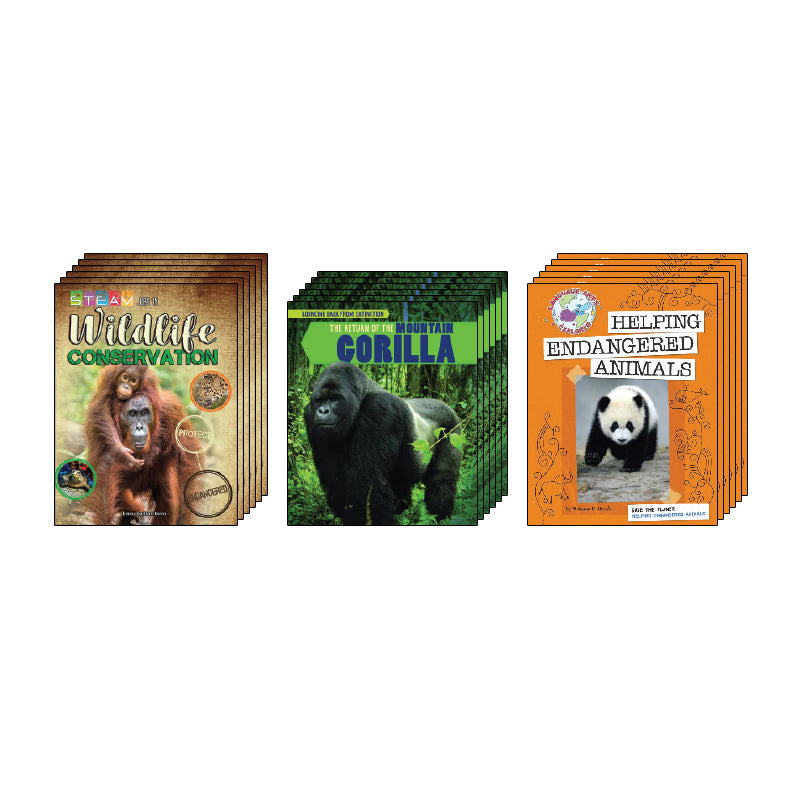High Interest Science - Endangered!...- Grades 5-6: Class Pack