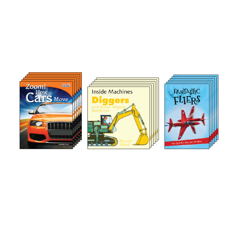 High Interest Science - Engines...- Grades 2-3: Class Pack