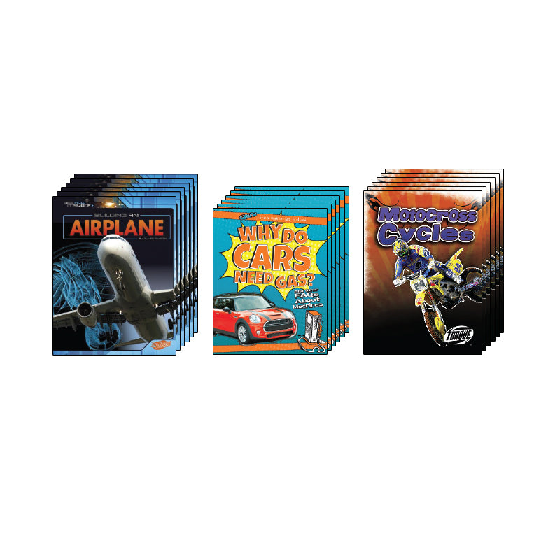 High Interest Science - Engines...- Grades 3-4: Class Pack