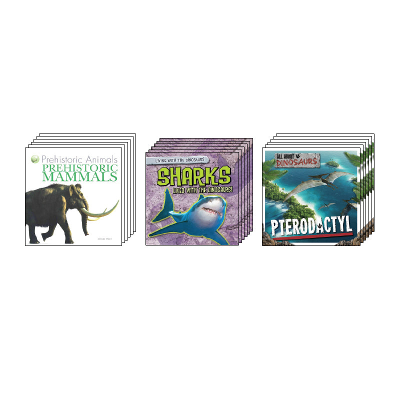 High Interest Science - Extinct! Dinosaurs...- Grades 2-3: Class Pack