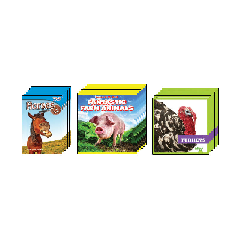 High Interest Science - Farm Animals - Grades 1-2: Class Pack