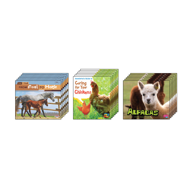 High Interest Science - Farm Animals - Grades 2-3: Class Pack