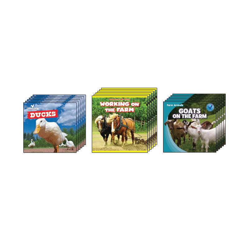 High Interest Science - Farm Animals - Grades K-1: Class Pack