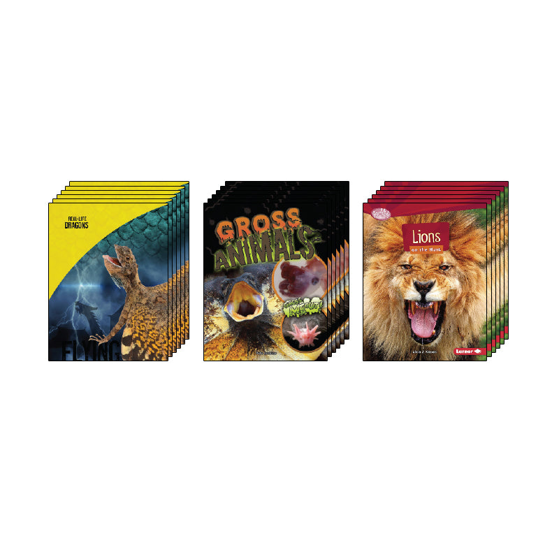 High Interest Science - Weird and Wild Animals - Grades 4-5: Class Pack