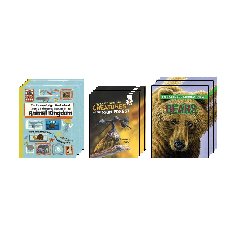 High Interest Science - Weird and Wild Animals - Grades 5-6: Class Pack