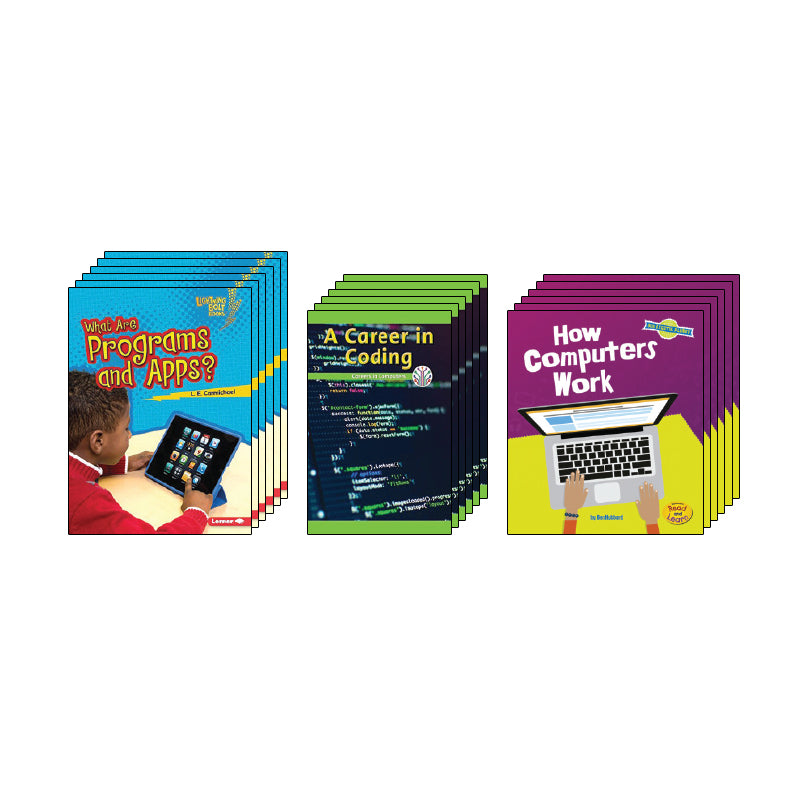 High Interest Science - Coding, Programming...- Grades 2-3 (Set 1): Class Pack