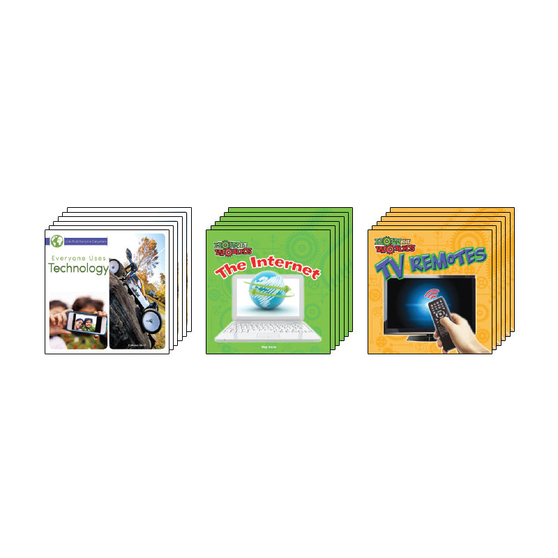High Interest Science - Cool Technology - Grades K-2 (Set 1): Class Pack