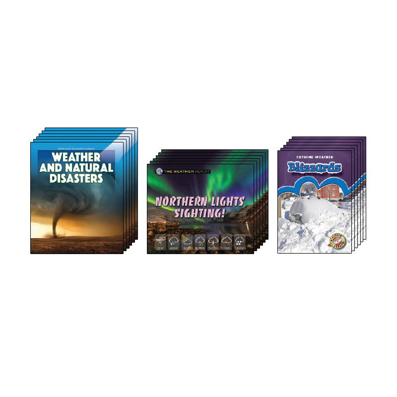 High Interest Science - Weather - Grades 2-4 (Set 1): Class Pack