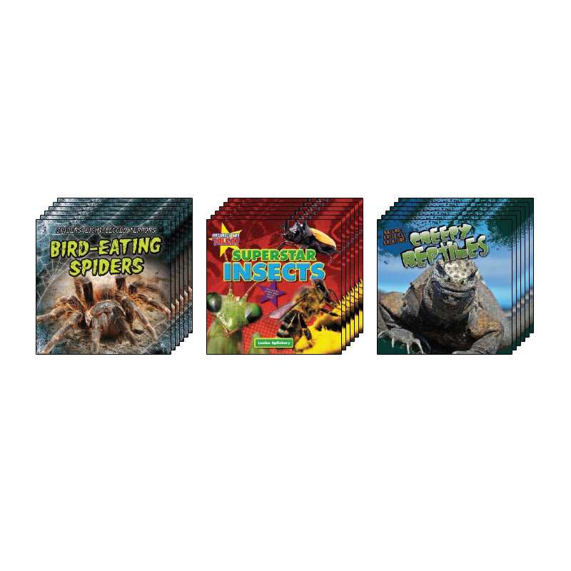 High Interest Science - Weird and Wild Creepy... - Grades 2-3 (Set 1): Class Pack