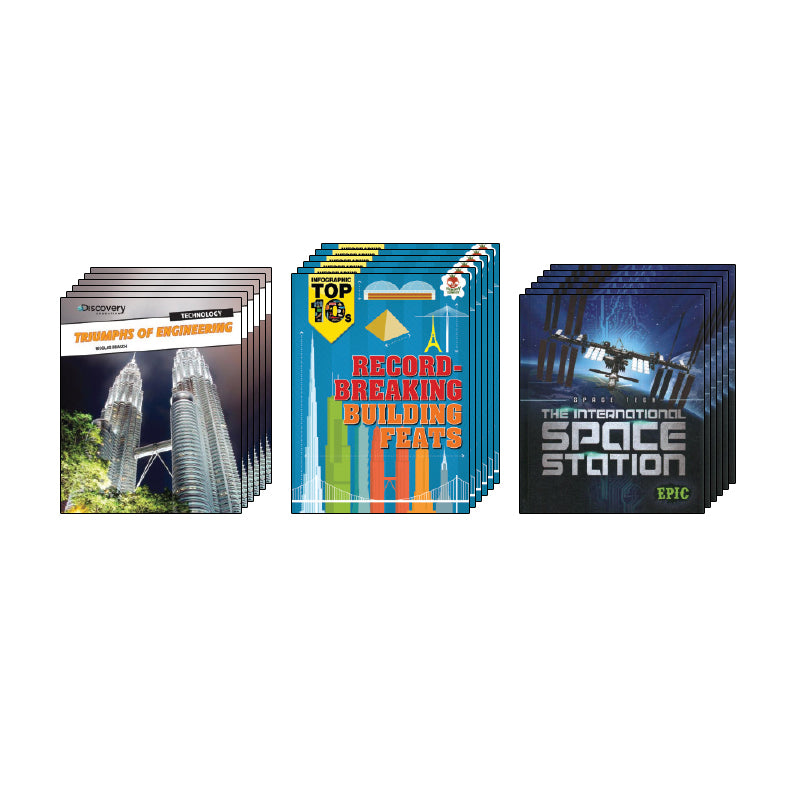 High Interest Science - Engineering...- Grades 4-6 (Set 2): Class Pack