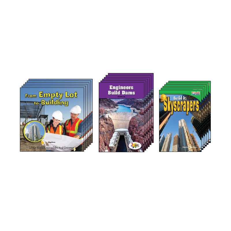 High Interest Science - Engineering...- Grades K-2 (Set 2): Class Pack