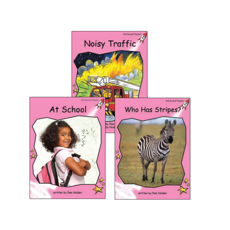 Red Rocket Readers Guided Reading Level A: Variety Pack