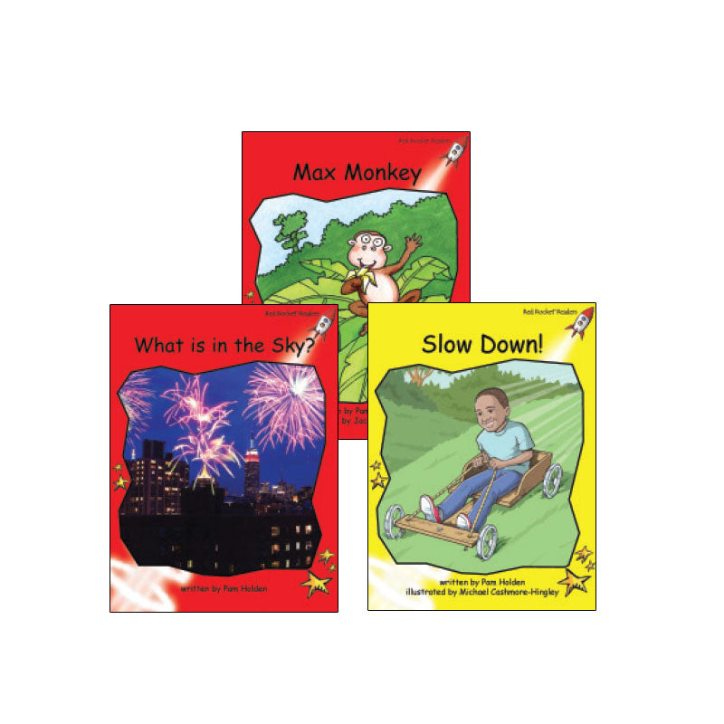 Red Rocket Readers Guided Reading Level C: Variety Pack