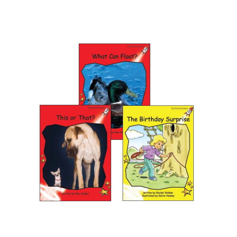 Red Rocket Readers Guided Reading Level D: Variety Pack