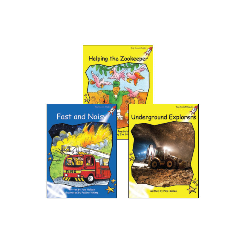 Red Rocket Readers Guided Reading Level E: Variety Pack