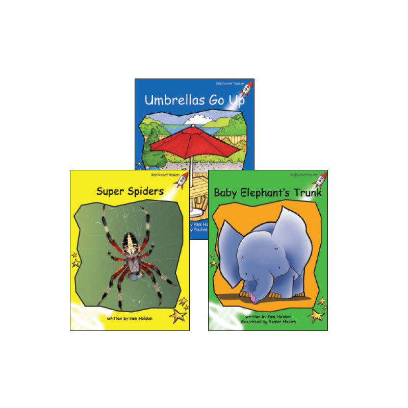 Red Rocket Readers Guided Reading Level F: Variety Pack