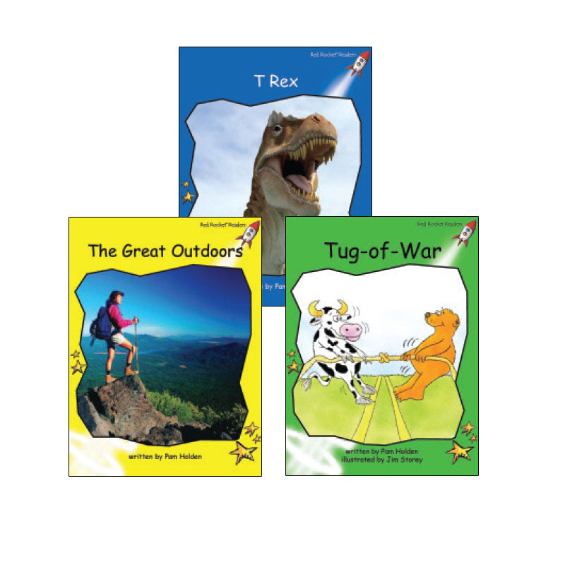 Red Rocket Readers Guided Reading Level G: Variety Pack