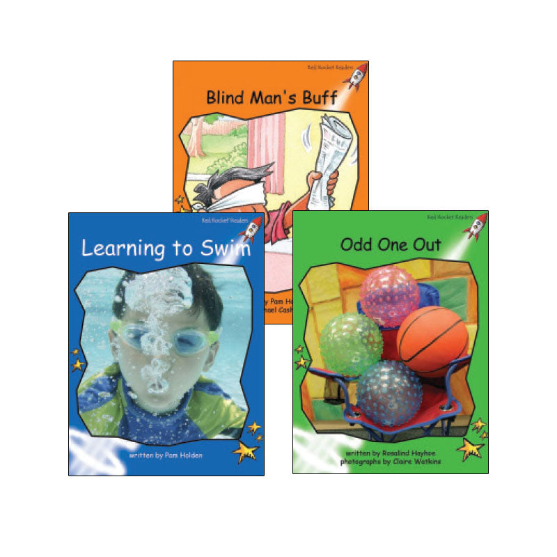 Red Rocket Readers Guided Reading Level H: Variety Pack