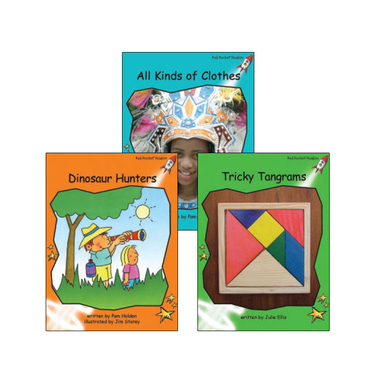 Red Rocket Readers Guided Reading Level I: Variety Pack
