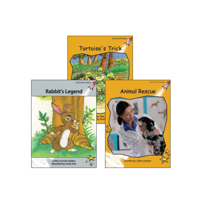 Red Rocket Readers Guided Reading Level L: Variety Pack