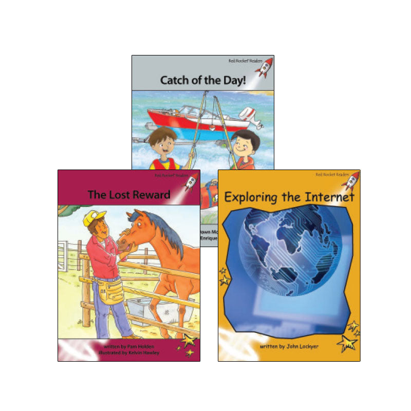Red Rocket Readers Guided Reading Level N: Variety Pack