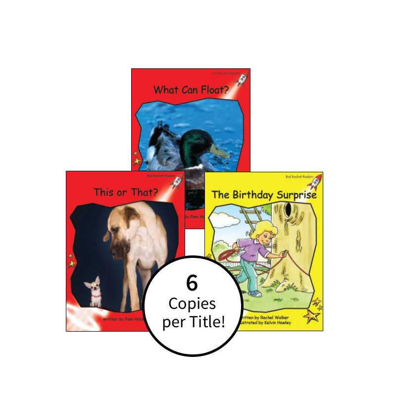 Red Rocket Readers Guided Reading Level D: Class Pack