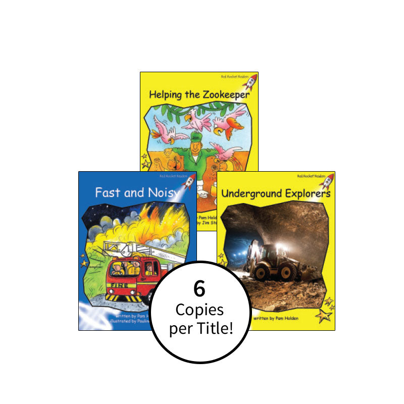 Red Rocket Readers Guided Reading Level E: Class Pack