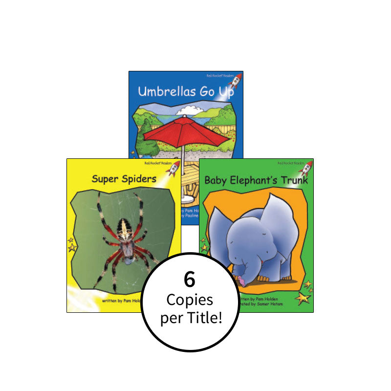 Red Rocket Readers Guided Reading Level F: Class Pack