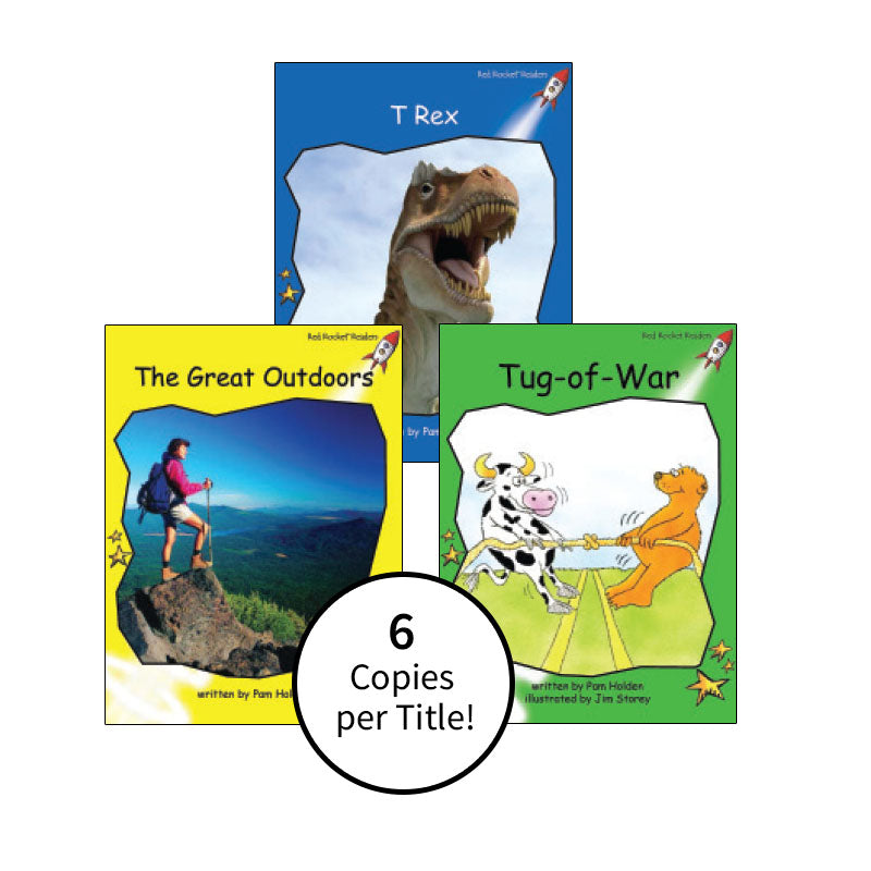 Red Rocket Readers Guided Reading Level G: Class Pack
