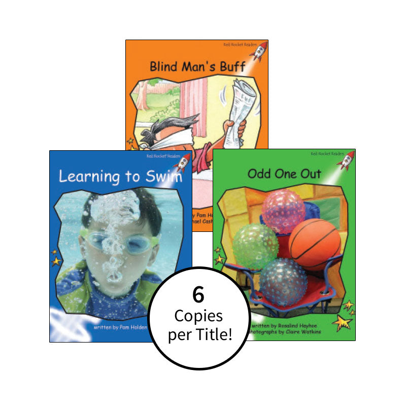 Red Rocket Readers Guided Reading Level H: Class Pack