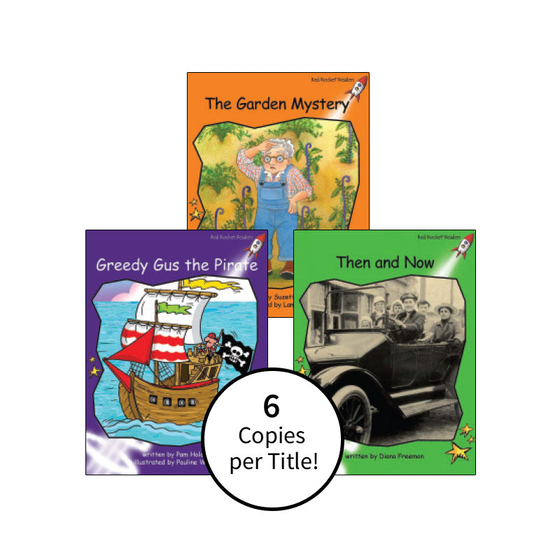 Red Rocket Readers Guided Reading Level J: Class Pack