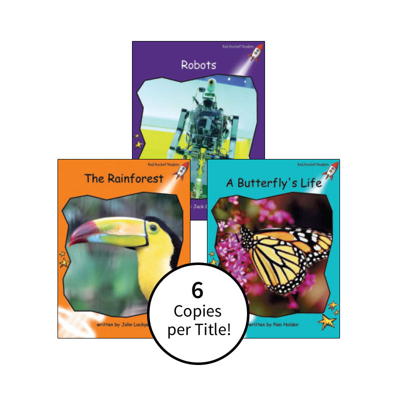 Red Rocket Readers Guided Reading Level K: Class Pack