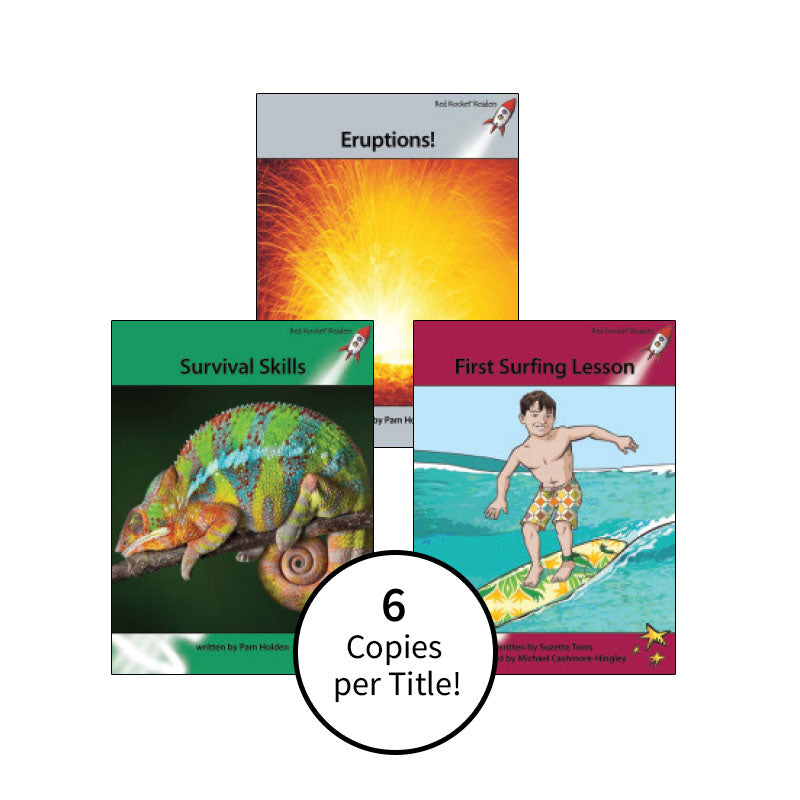 Red Rocket Readers Guided Reading Level P: Class Pack