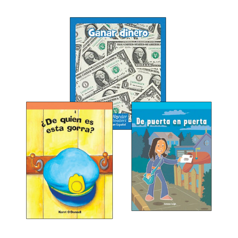 Kindergarten Spanish Social Studies Variety Pack: Economics